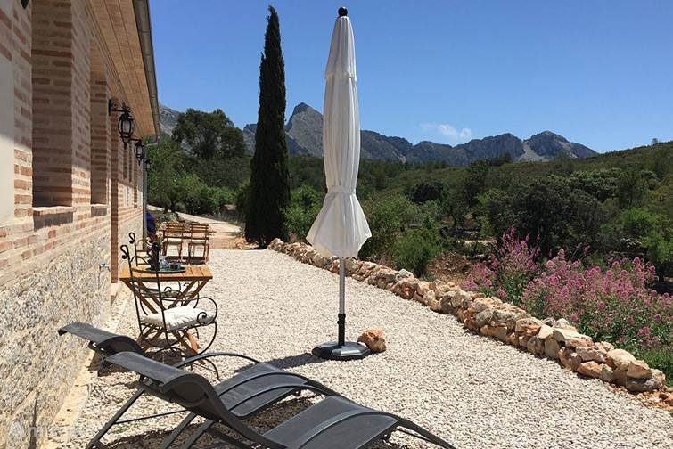 Vakantiehuis Spanje, Costa Blanca, Tàrbena Appartement Can Elisa - Appartement Almendra