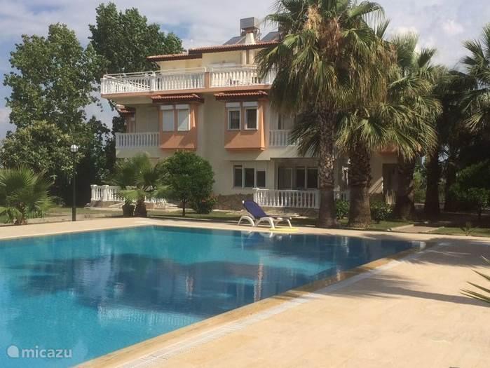 Vakantiehuis Turkije, Turkse Rivièra, Side vakantiehuis Villa Blaauw