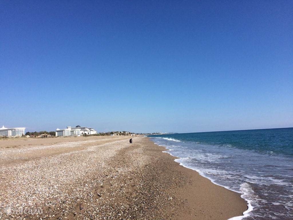 De ochtend. Rust aan het strand. Even het hoofd leeglopen.