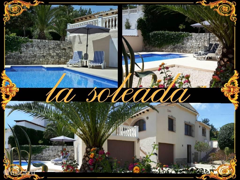 Vakantiehuis Spanje, Costa Blanca, Moraira villa Villa Soleada