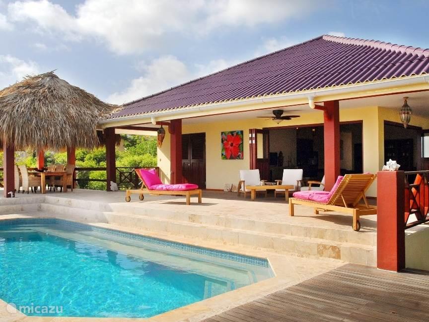 Vakantiehuis Bonaire, Bonaire, Santa Barbara villa La Vita è Bella