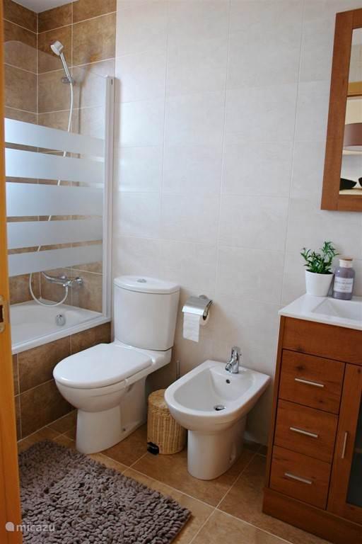 Badkamer 2 - ensuite met de master bedroom.