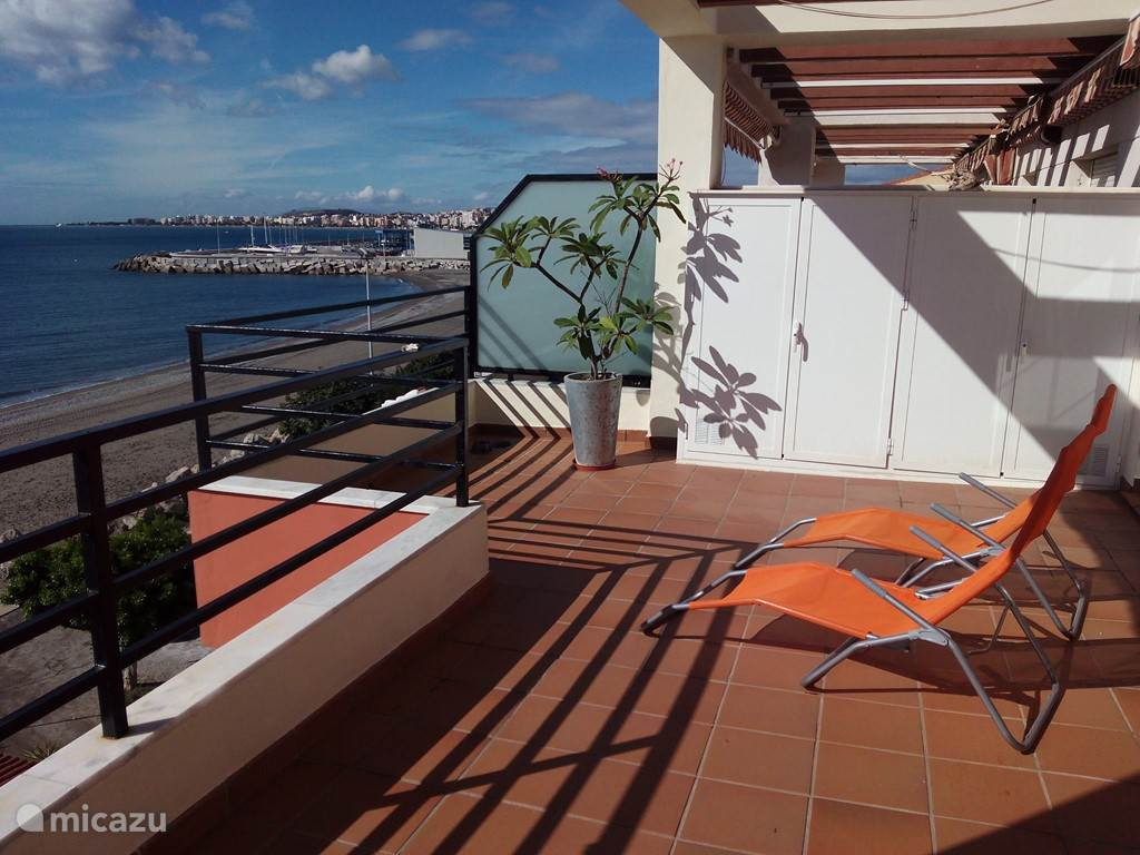 Vakantiehuis Spanje, Andalusië, Torre Del Mar penthouse Casa La Caleta, Torre Del Mar