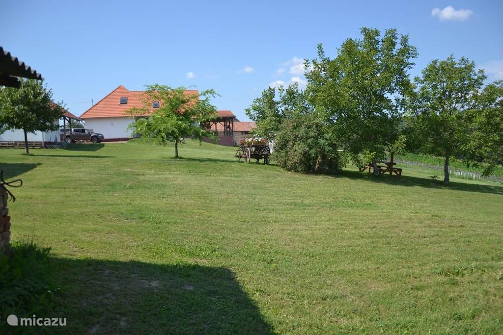 Welkom in uw tijdelijke thuis in een stukje Hongarije. Van bij het ochtendgloren tot aan de zonsondergang geniet u van het lichtspel en de mooie verzichten. Je verblijft in de mooiste provincie van Zuid-West Hongarije, te midden van een sublieme, heuvelachtige omgeving.