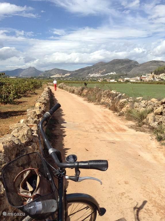 Wandelen / fietsen door de vallei