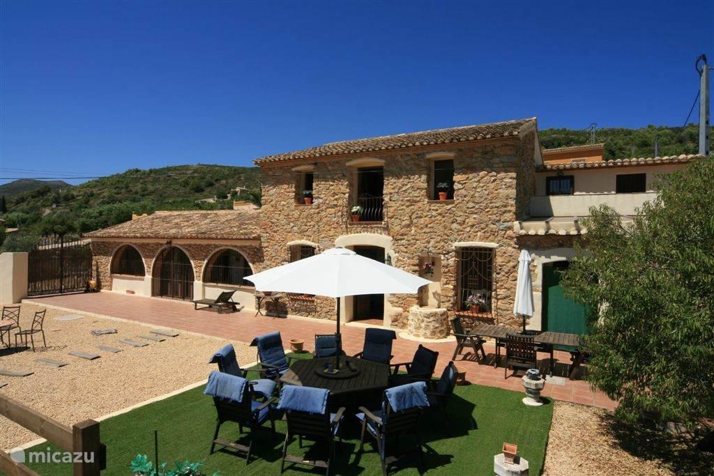 Vakantiehuis Spanje, Costa Blanca, Lliber Finca Finca Lindi