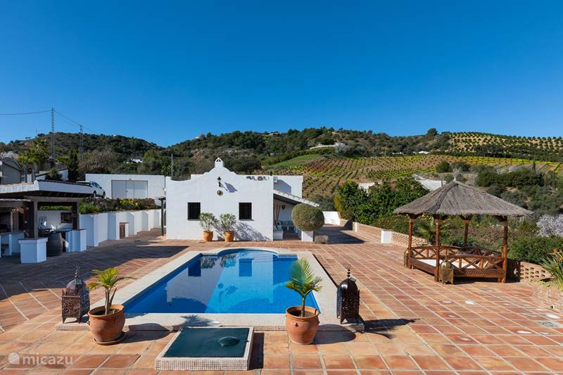Vakantiehuis Spanje, Andalusië, Alhaurín el Grande Vakantiehuis Alhaurin Sefardi: 30 min v.a. Málaga