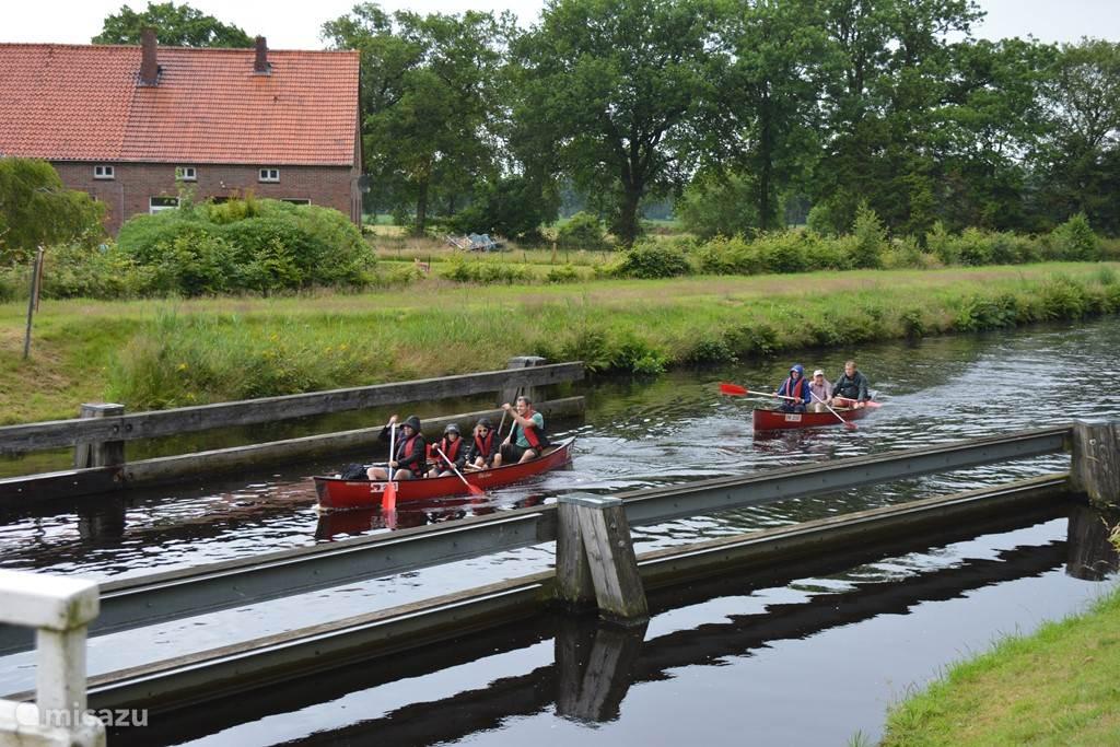 kano varen bij Aurich