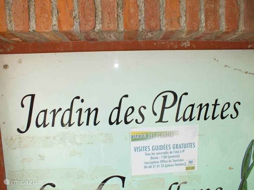 Jardin des Plantes in St. Cyprien