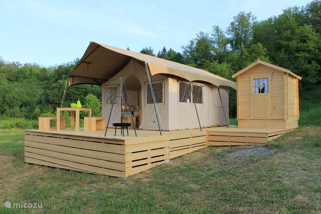 Vacation rental Croatia, Karlovac, Johi glamping / safari tent Glamping Johi