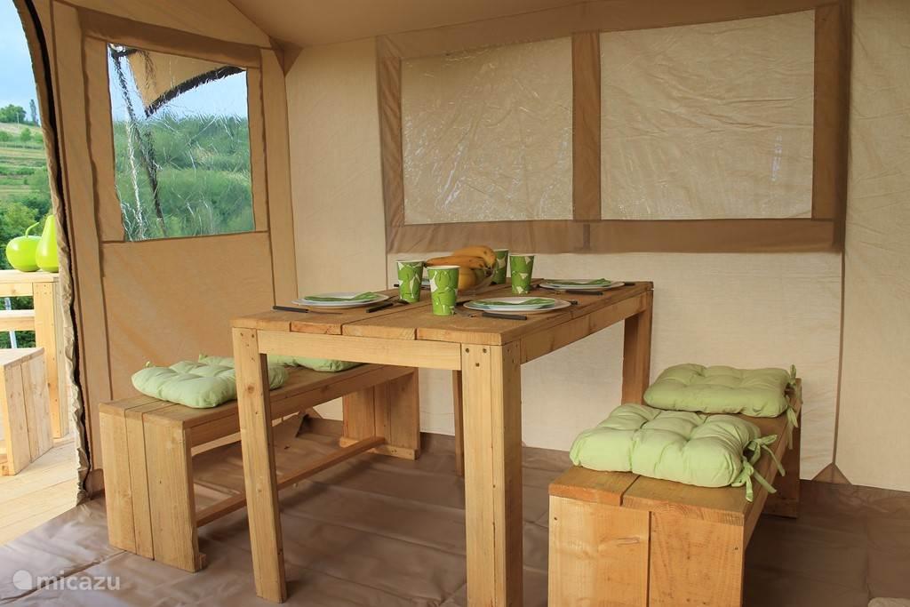 Vacation rental Croatia, Karlovac, Johi Glamping / Safari tent / Yurt Glamping Johi