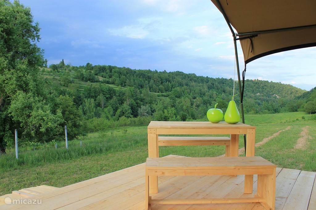 Vacation rental Croatia, Karlovac, Johi Glamping / Safari tent / Yurt Glamping Johi 4