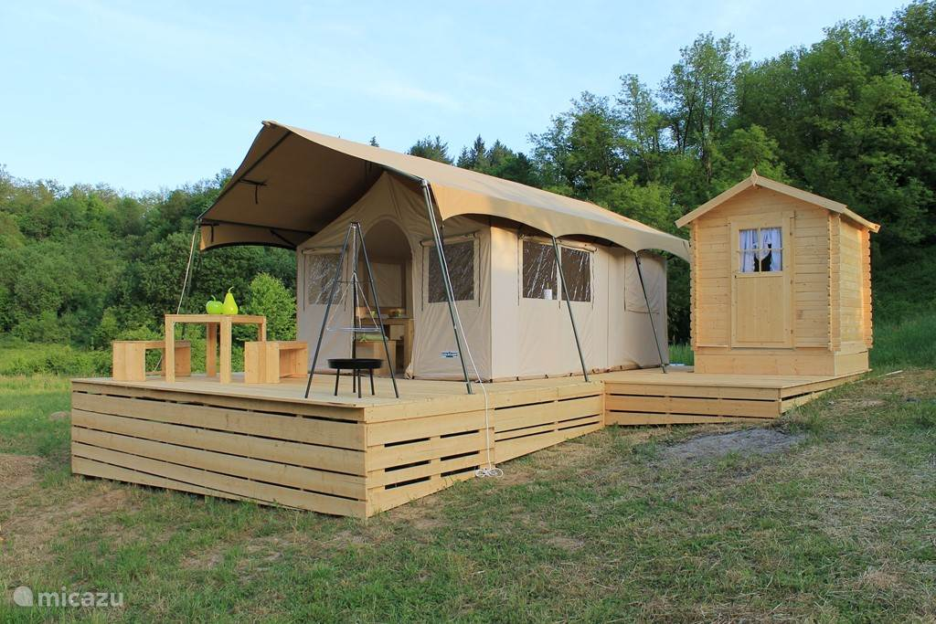 Vacation rental Croatia – glamping / safari tent / yurt Glamping Johi 5