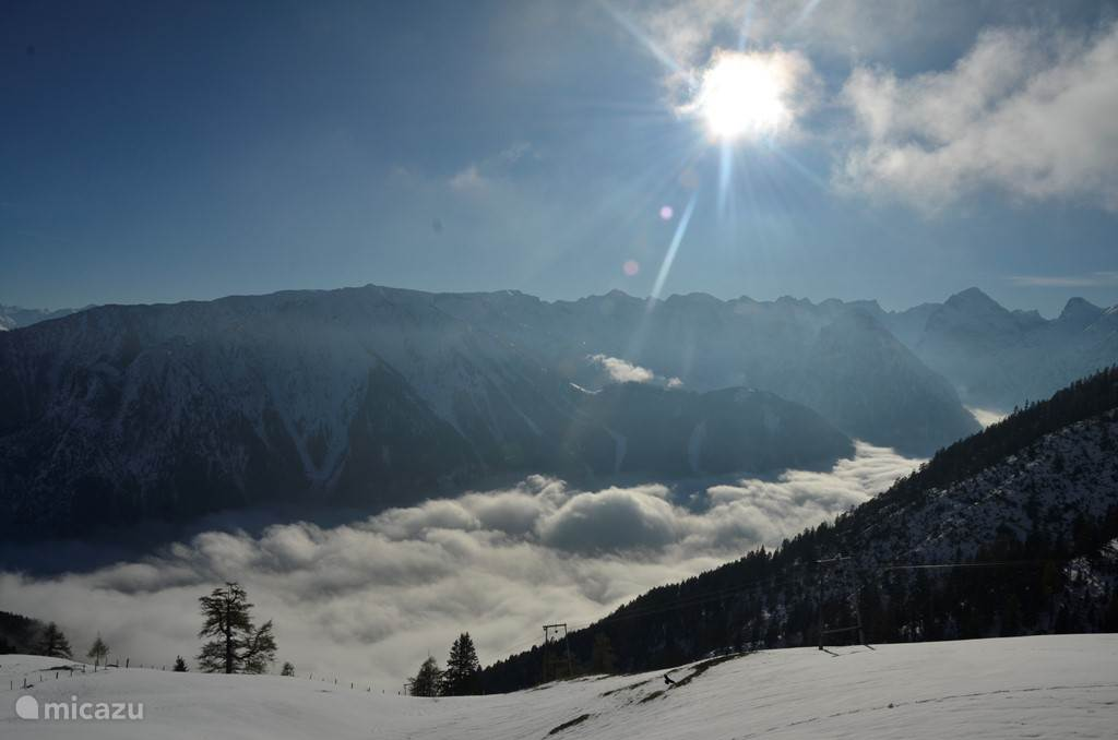 Above the clouds the sun shines!