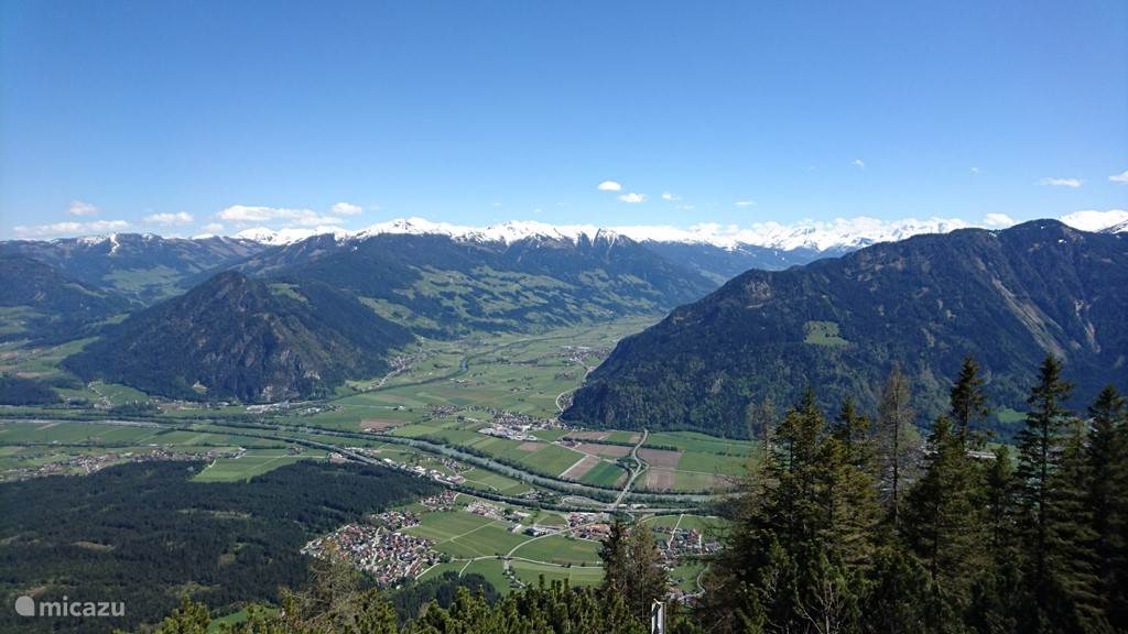View of the Zillertal