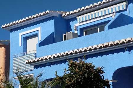 Vakantiehuis Spanje, Costa Blanca, Cumbre del Sol appartement Casa Sillero, romatisch zicht op zee