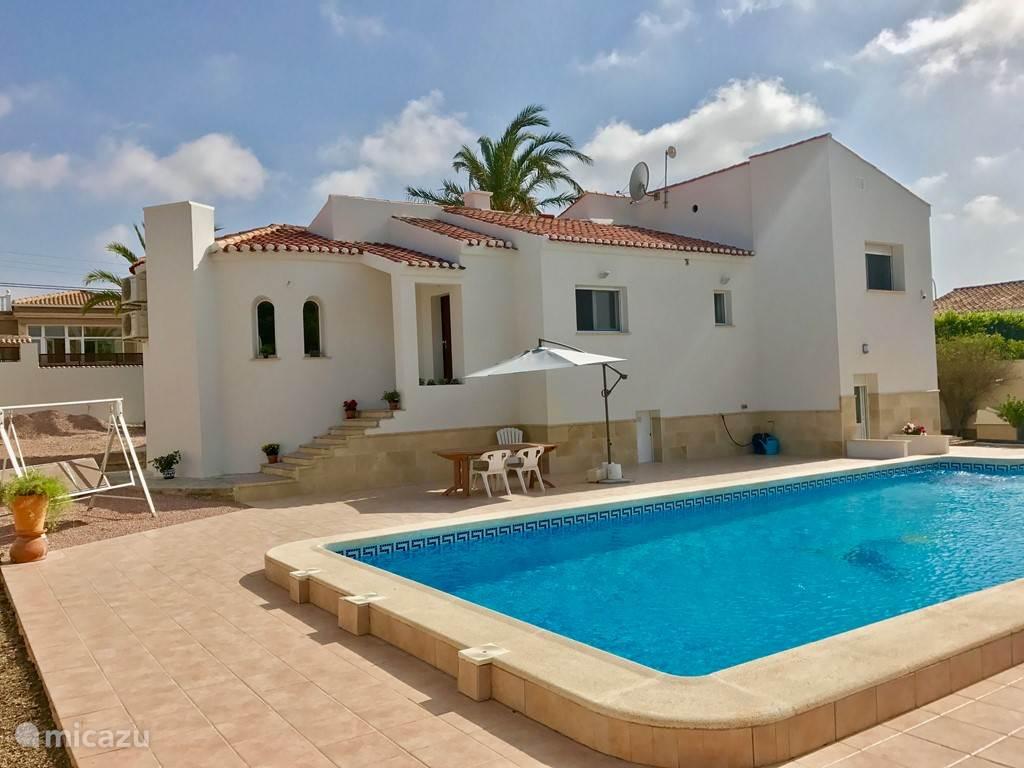 Ferienwohnung Spanien, Costa Blanca, Torrevieja villa Casa Winter-Dornröschen