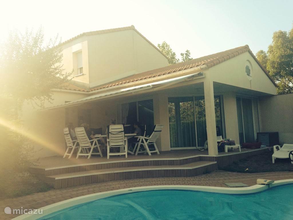De villa met privé-zwembad