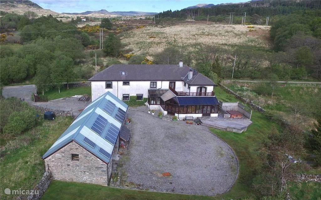 Stronafian House met tuin