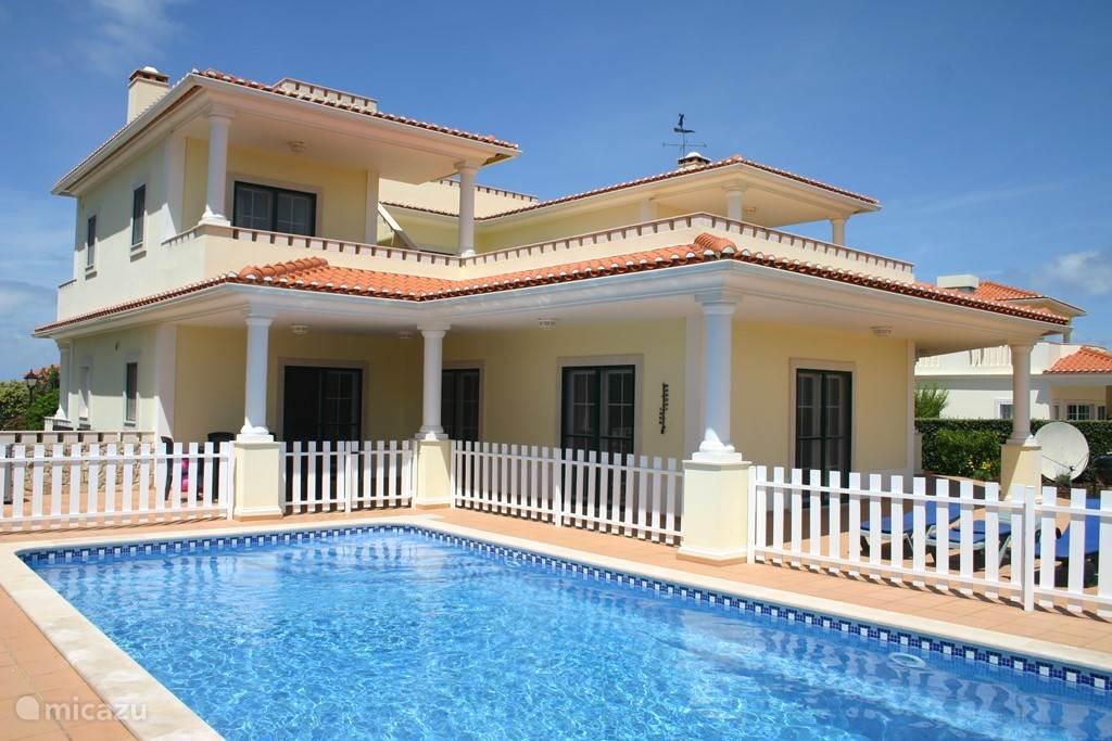 Vakantiehuis Portugal, Costa de Prata – villa Ninho dos Corvos - Praia D'El Rey