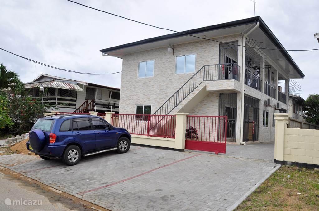 Vakantiehuis Suriname – appartement Riando- Rainville appartement