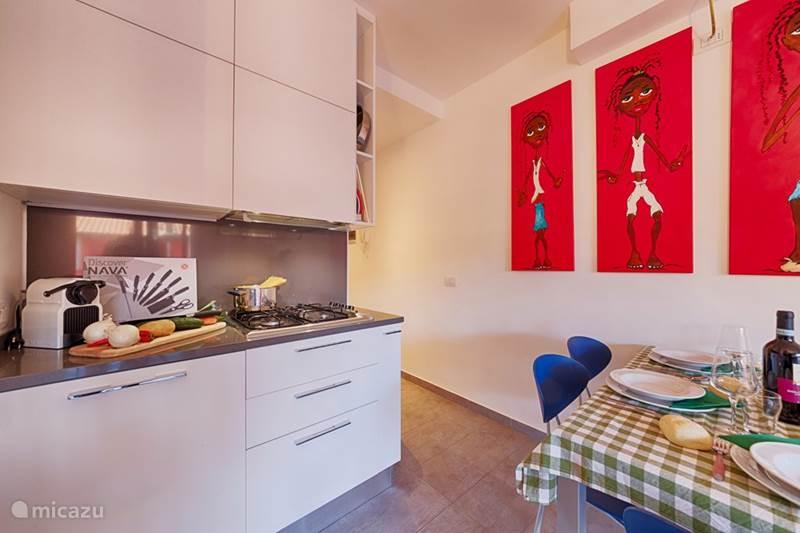 Vakantiehuis Italië, Comomeer, Acquaseria Appartement Luxe 5-pers. appartement Mimosa 21