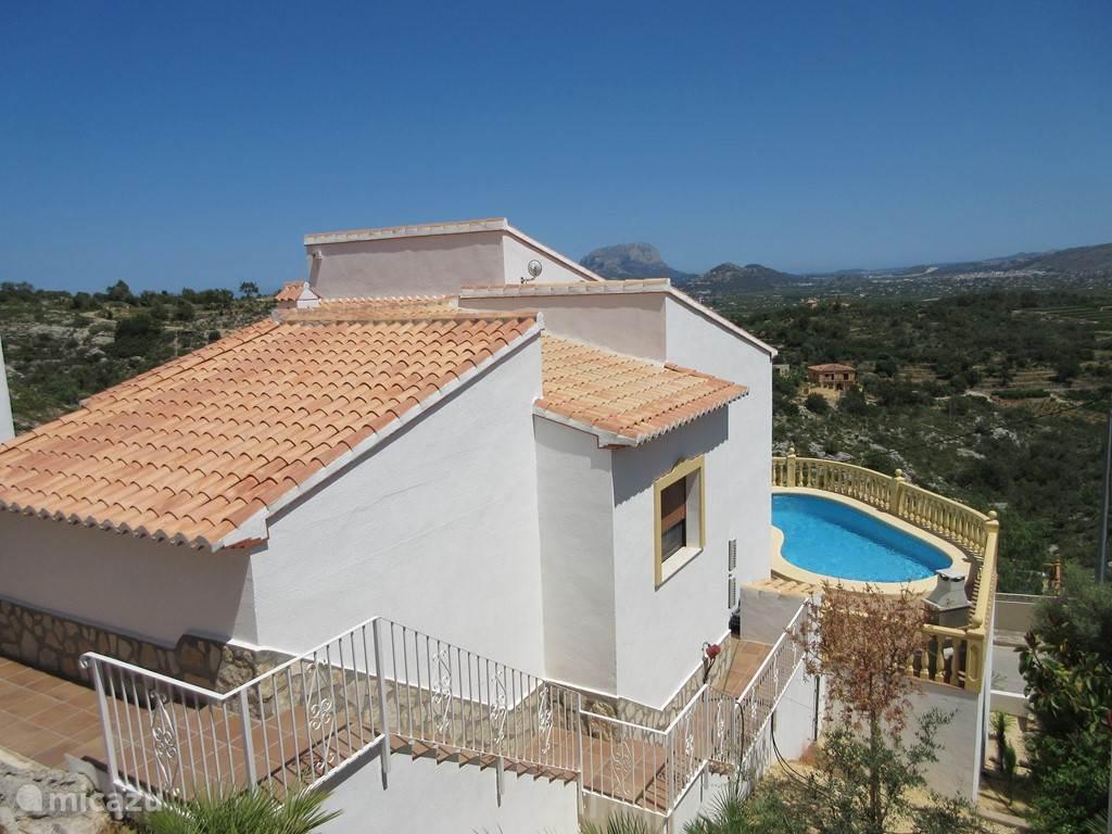 Zwemmen, Spanje, Costa Blanca, Sanet Y Negrals, villa Villa Oliviers