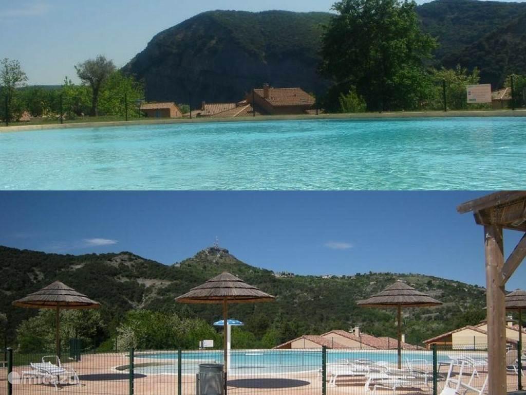 Gemeenschappelijk zwembad - de woning ligt hier vlakbij!