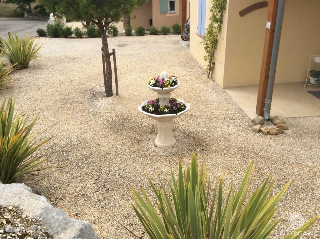 La Fontaine - heerlijke tuin