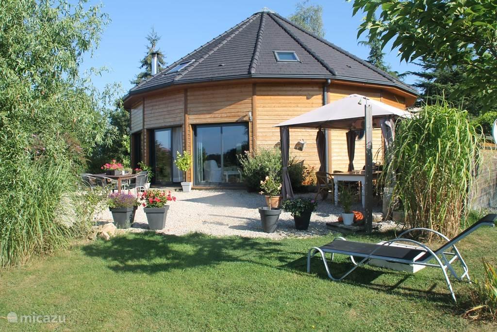 Vakantiehuis Frankrijk, Limousin, Saint-Martin-la-Méanne vakantiehuis La Maison Ronde