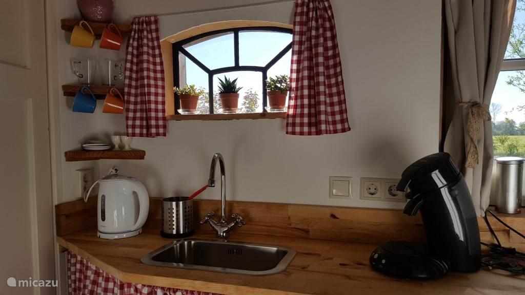 Keukentje en aanrecht