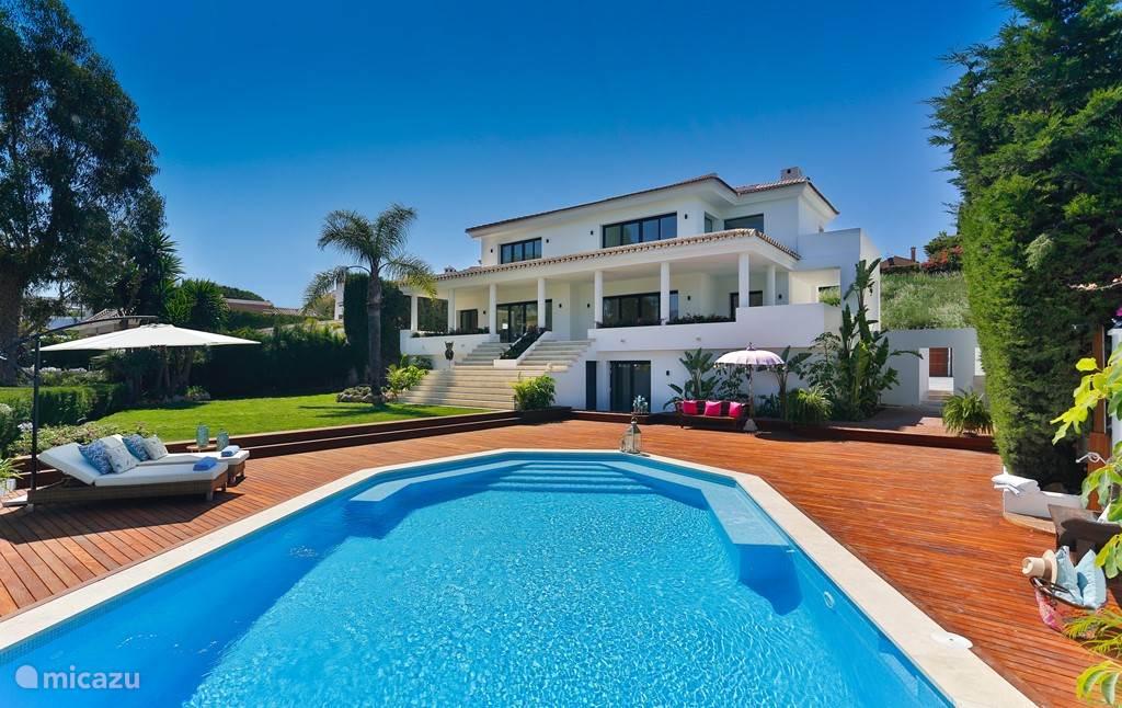 Vakantiehuis Spanje, Costa del Sol, Marbella villa Luxe Front Line Golf Villa Marbella