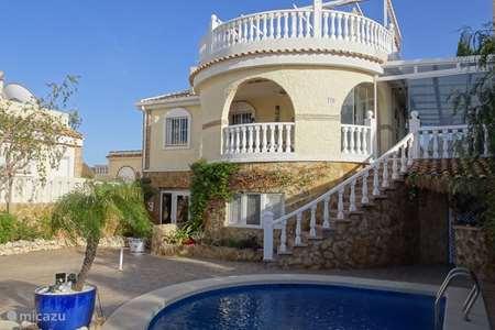 Vakantiehuis Spanje, Costa Blanca, Gran Alacant - Santa Pola villa Villa in Gran Alacant met Zwembad