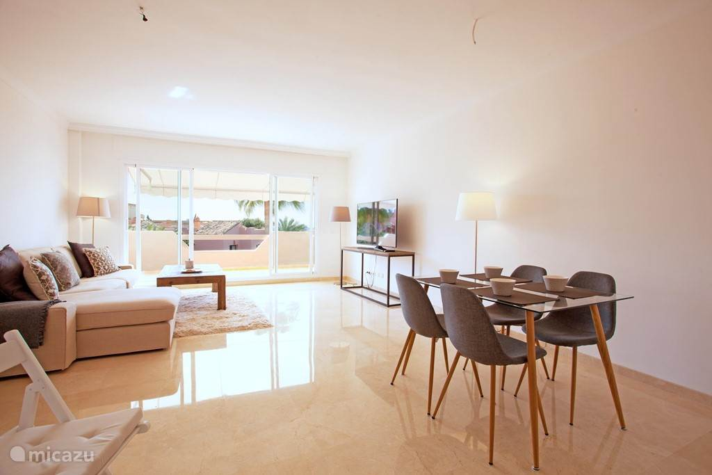 Vakantiehuis Spanje, Costa del Sol, Marbella Appartement Marbella Playa zeezicht appartement