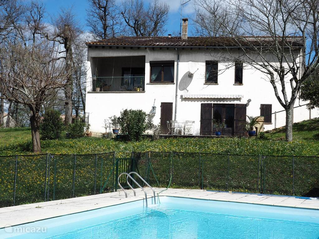 Vacation rental France, Lot-et-Garonne, Lauzun villa Elena