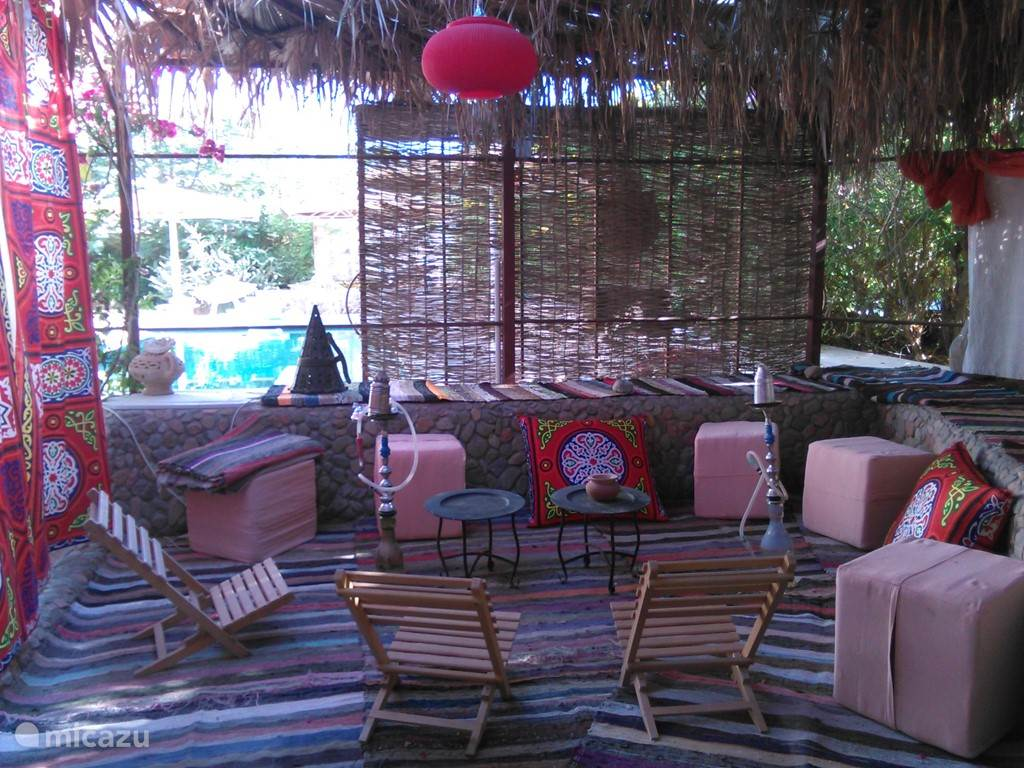 Shisha-Lounge Ecke
