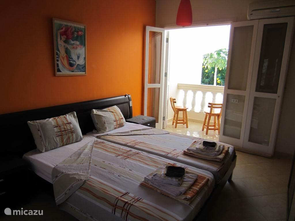 2de slaapkamer van het 3/4 slaapkamer appartement
