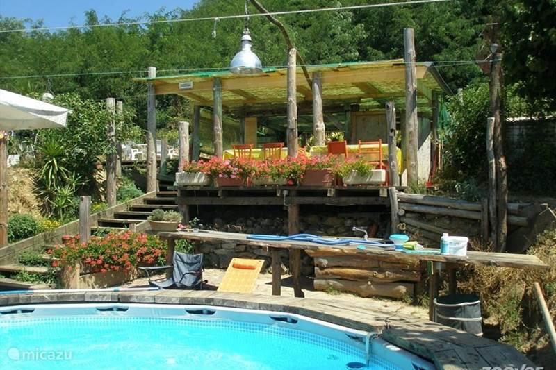 Vakantiehuis Italië, Toscane, Uzzano Glamping / Safaritent / Yurt De Gelukkige Ezels-Safaritent Benji