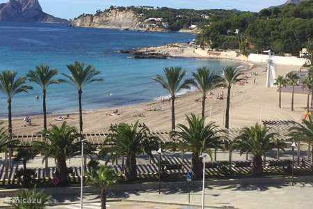 Vacation rental Spain, Costa Blanca, Moraira apartment Atico Castel Playa