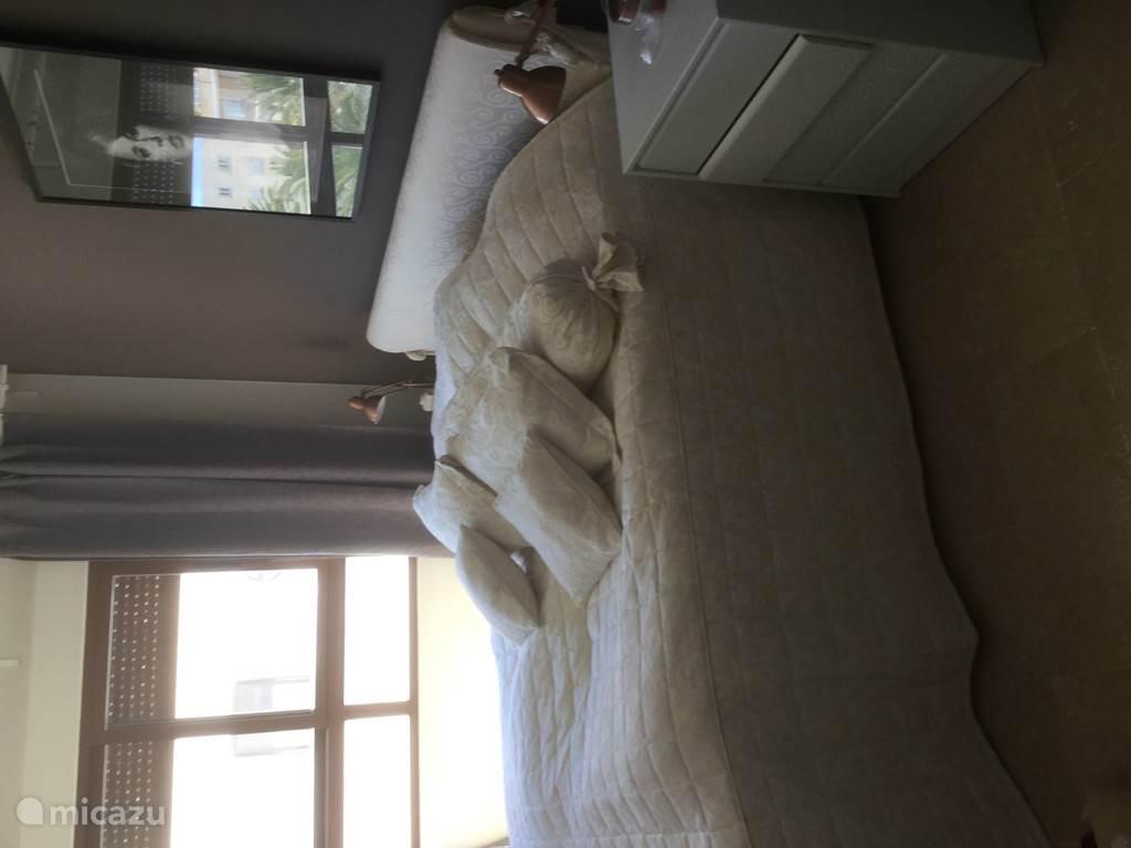 2 persoons slaapkamer met boxspring