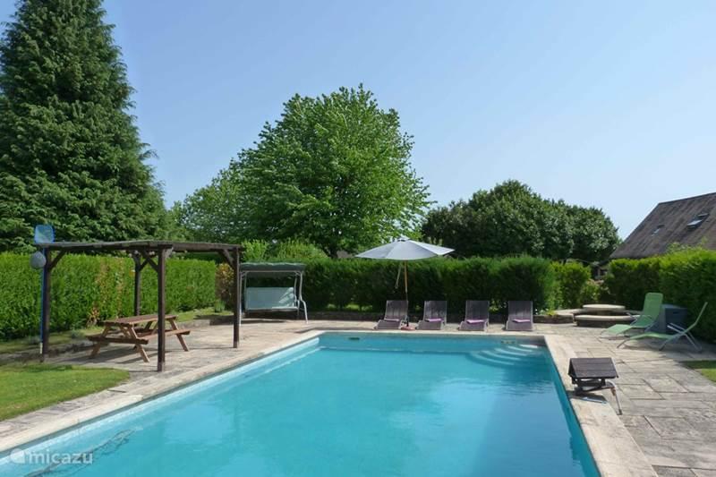 Vakantiehuis Frankrijk, Dordogne, Sarrazac Gîte / Cottage La Fermette bij Les Lavandes