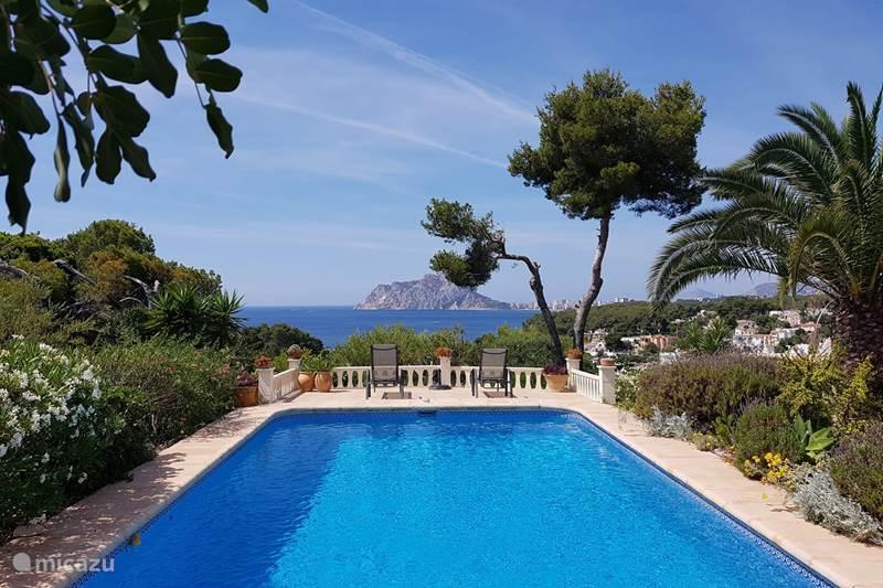 Vakantiehuis Spanje, Costa Blanca, Benissa Vakantiehuis Casa Rovila