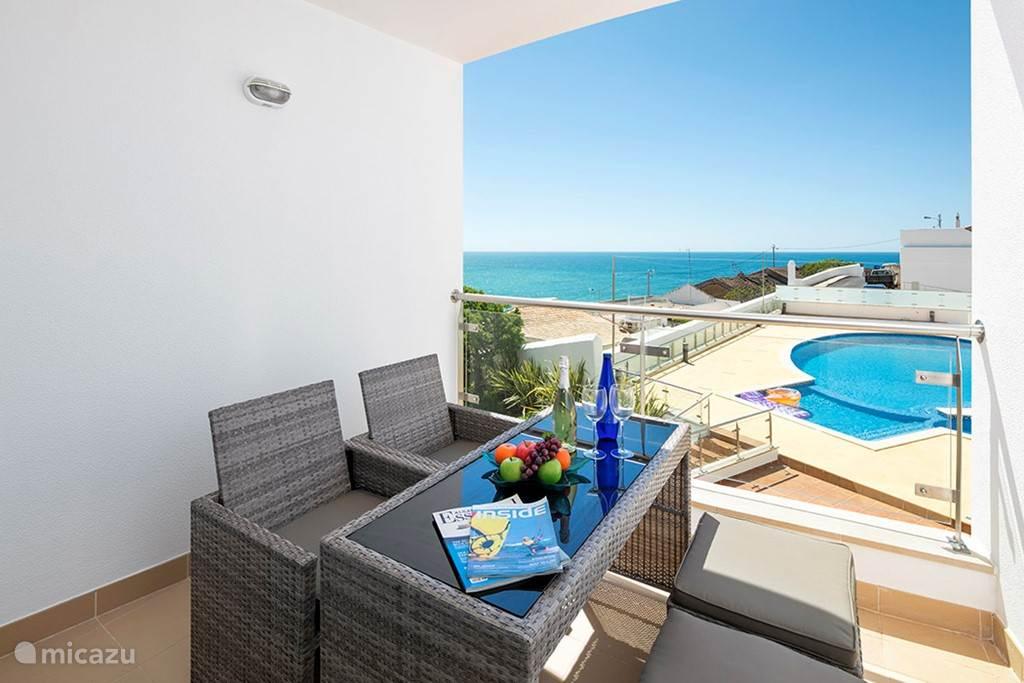Het balkon van Carvoeiro Bay P