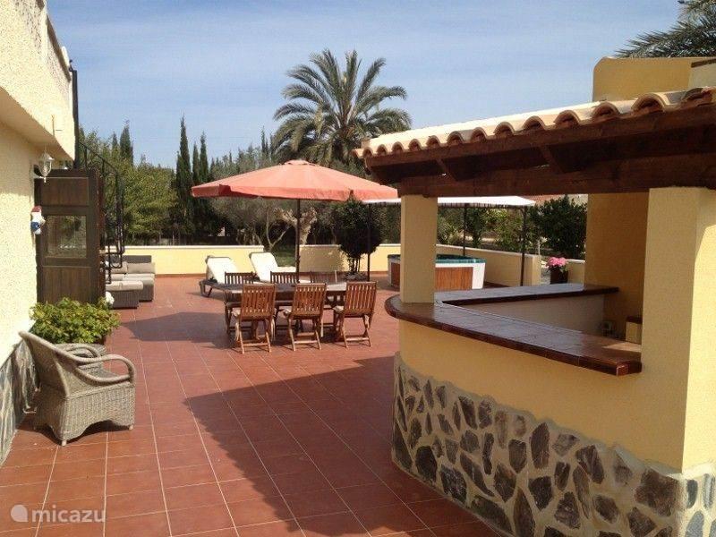 Vakantiehuis Spanje, Costa Blanca, La Marina villa Finca Santa Fé