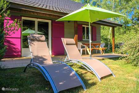 Vacation rental France, Cantal, Champs-sur-Tarentaine-Marchal chalet Chalet & Spa