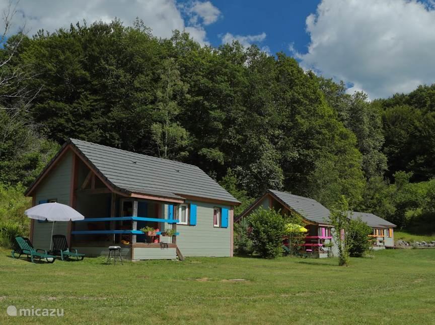 Vakantiehuis Frankrijk, Cantal, Champs-sur-Tarentaine-Marchal chalet Vakantiepark & Spa:Centraal Massief