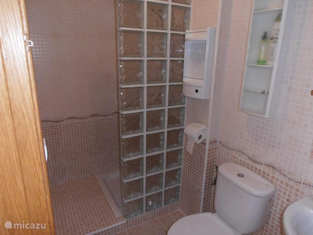 Badkamer met inloop douche