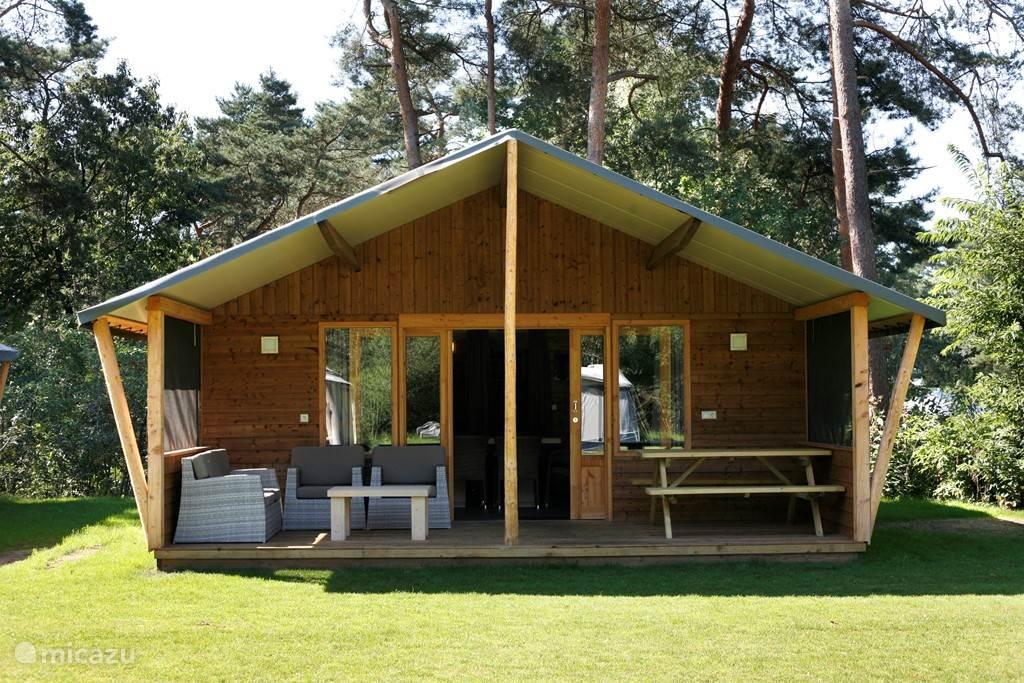 Vakantiehuis Nederland, Overijssel, Raalte - blokhut / lodge Safarilodge deluxe