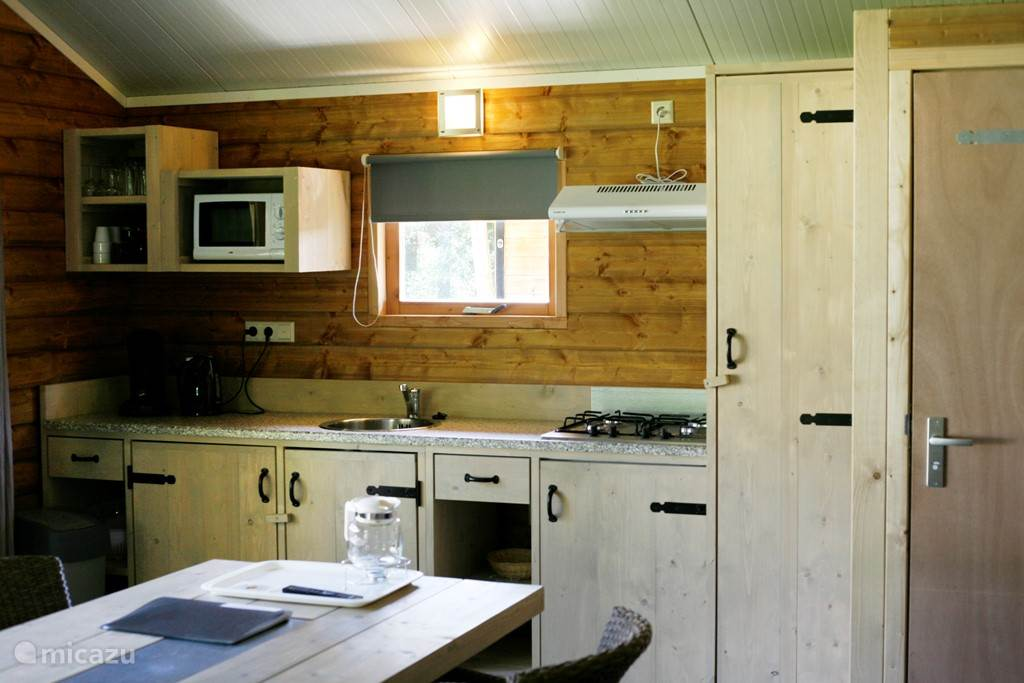 Vakantiehuis Nederland, Overijssel, Raalte Blokhut / Lodge Safarilodge deluxe