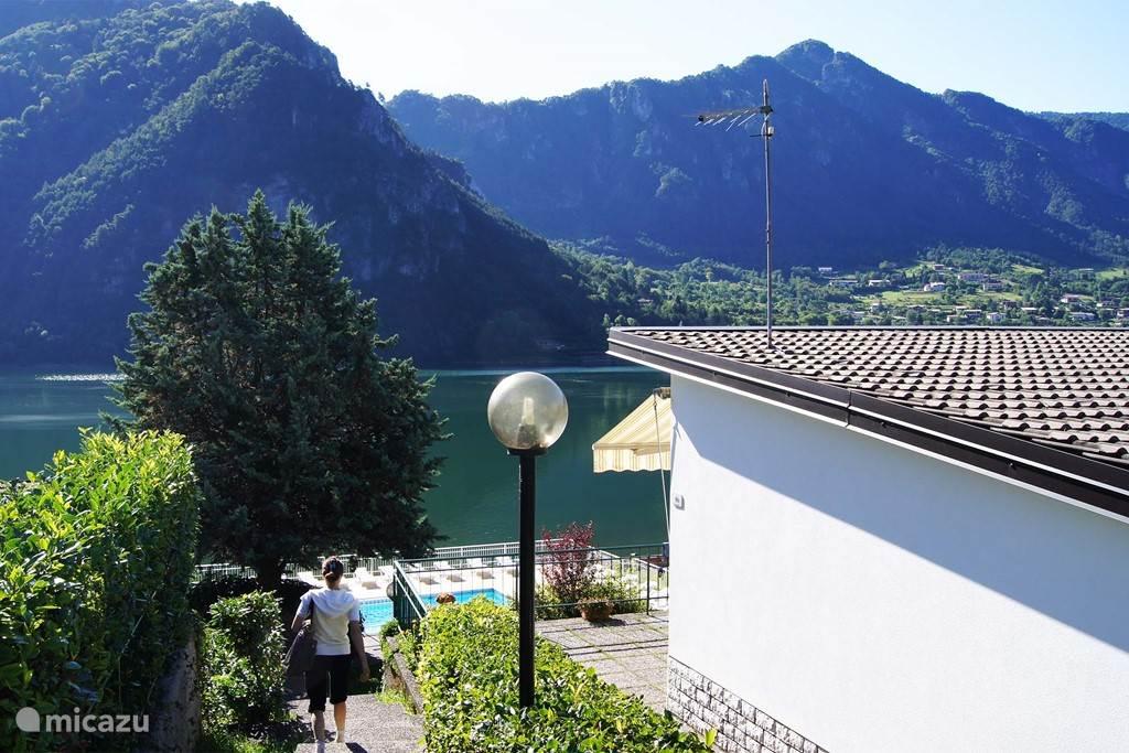 Vakantiehuis Italië, Italiaanse Meren, Idro Vakantiehuis Anna 87 Idromeer (Tre Capitelli)